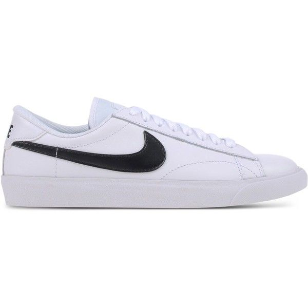 newest collection c6a87 16335 Nike Low-Tops Trainers ( 120) ❤ liked on Polyvore featuring shoes, sneakers,  white, nike trainers, nike shoes, leather low top sneakers, low profile ...