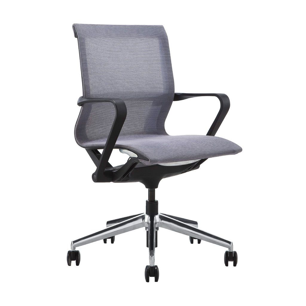 Empire Mesh Management Chair Grey Mesh Office Chair Modern Office Chair Office Seating