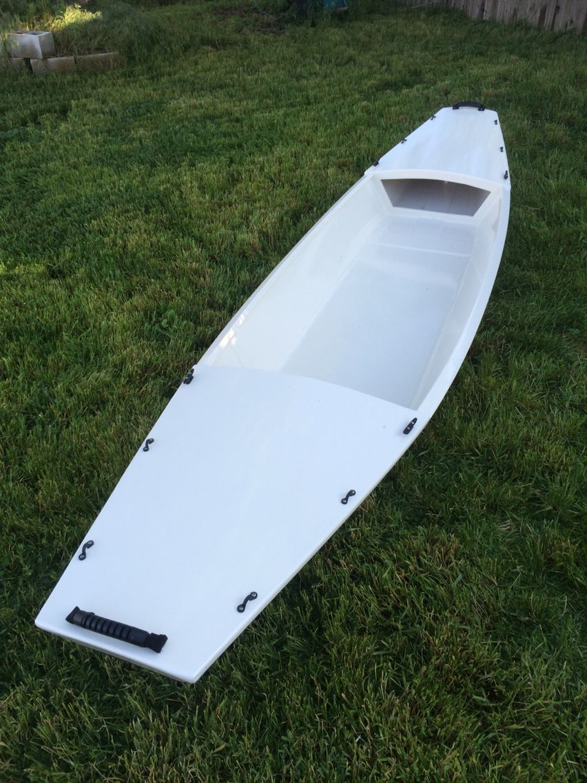 Pretty Neat What One Can Do With Just One Sheet Of Plywood And Some Epoxy If Anyone Needs Me I Ll Be Checking To Boat Building Wooden Boat Plans Boat Design