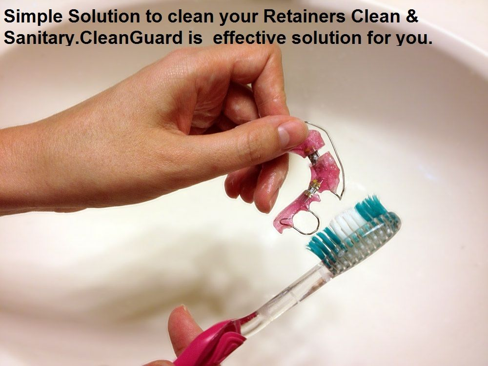 A Simple Solution for Keeping Dentures, Night Guards, and