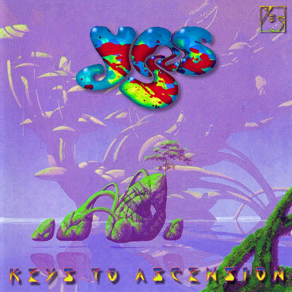 Yes: Keys To Ascension 2 | Music album art, Roger dean