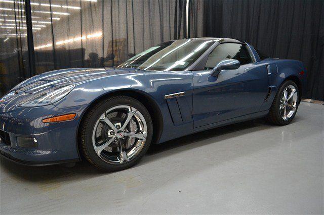 2012 Corvette Grand Sport In Supersonic Blue Metallic Corvette Grand Sport Corvette 2012 Corvette