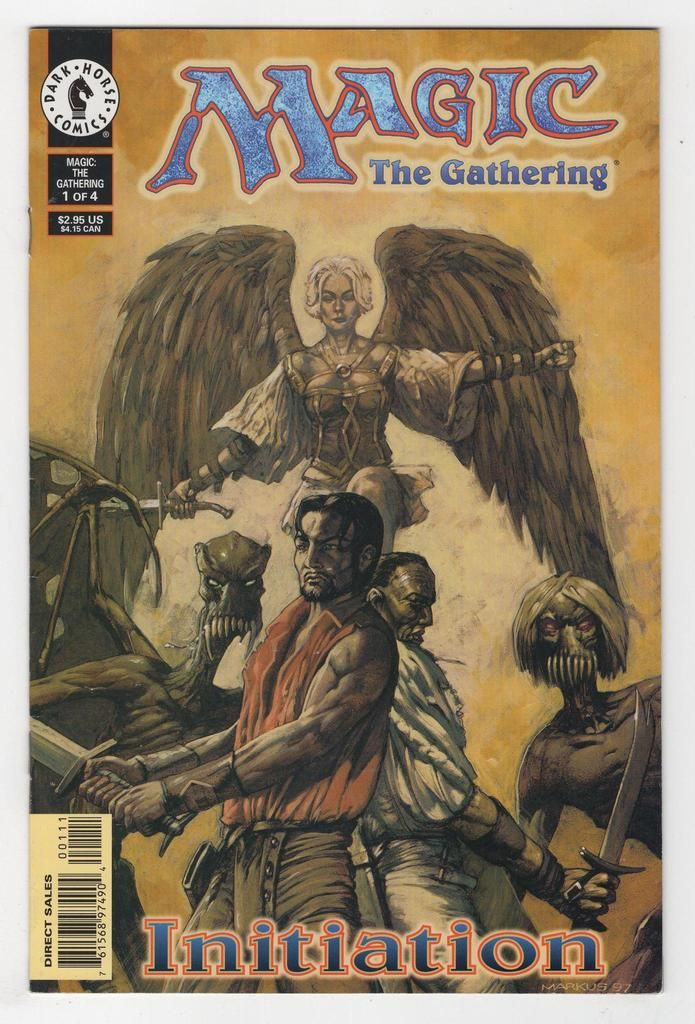 Magic the Gathering 1 Regular Mark Harrison Cover (1998