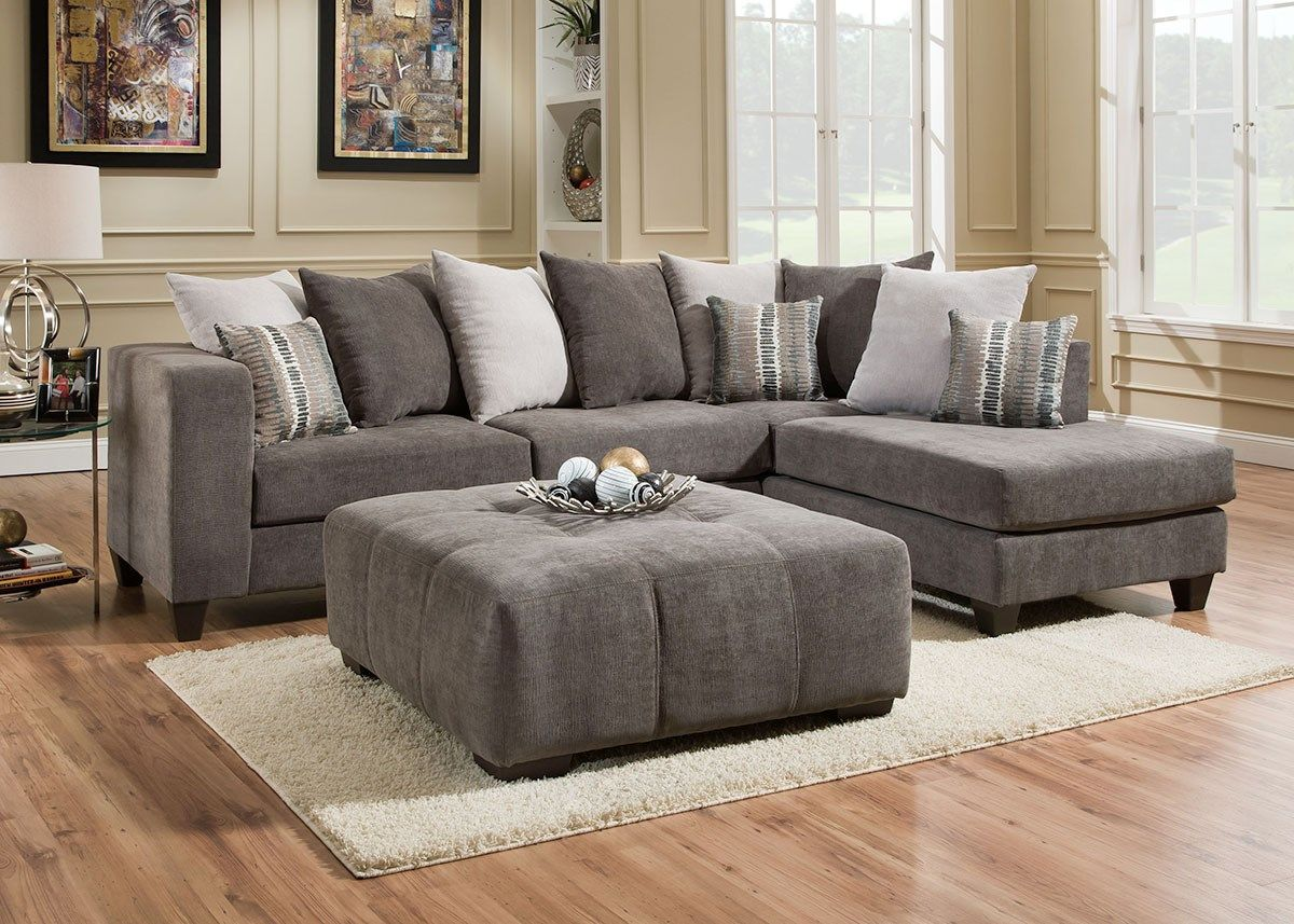 Gwen Ii 2pc Sectional The Roomplace Furniture Chelsea Home Furniture Sectional Sofa #the #room #place #living #room #sets