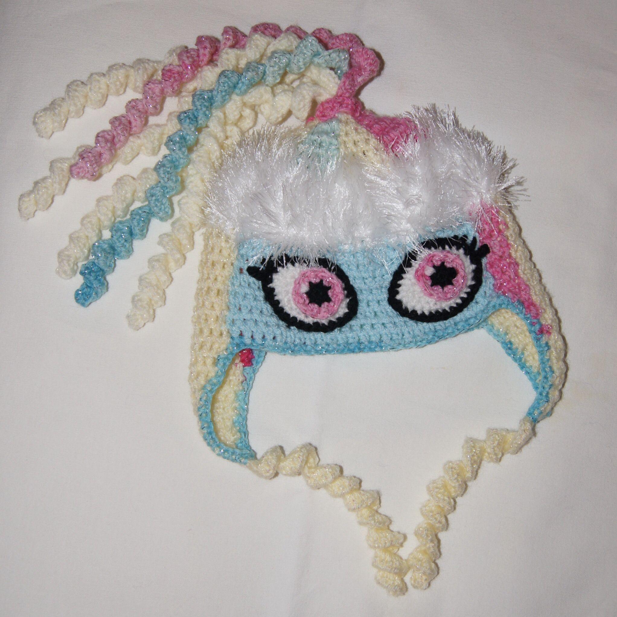 Monster High Abbey Bominable Inspired hat | Hats | Pinterest