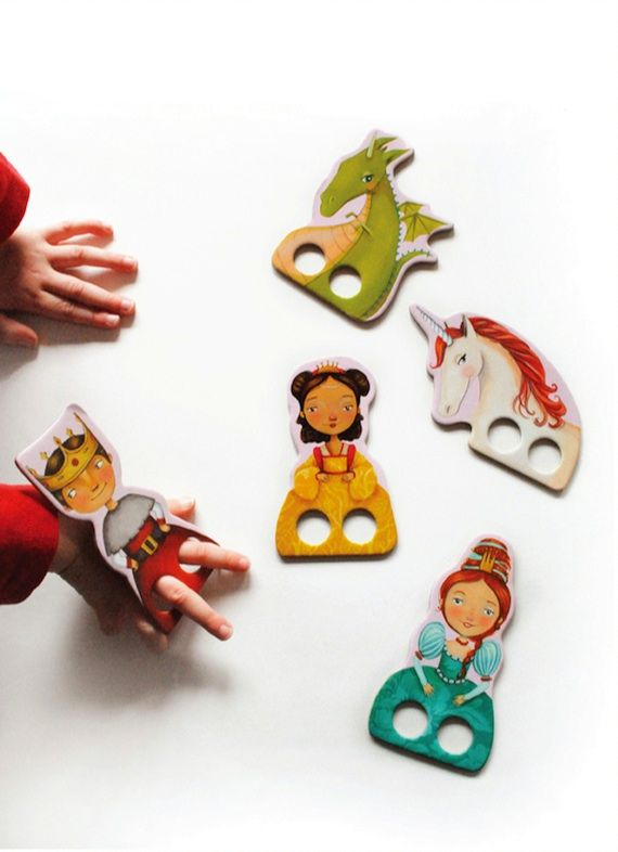Marionetas para los dedos / Fingers puppets | Articulated Paper ...