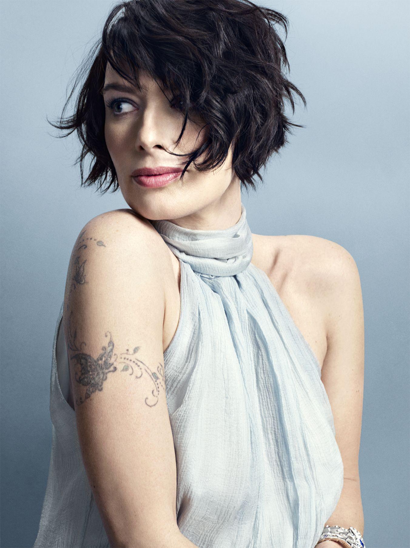 Lena Headey Square Face Hairstyles Short Hair Styles Edgy Hair