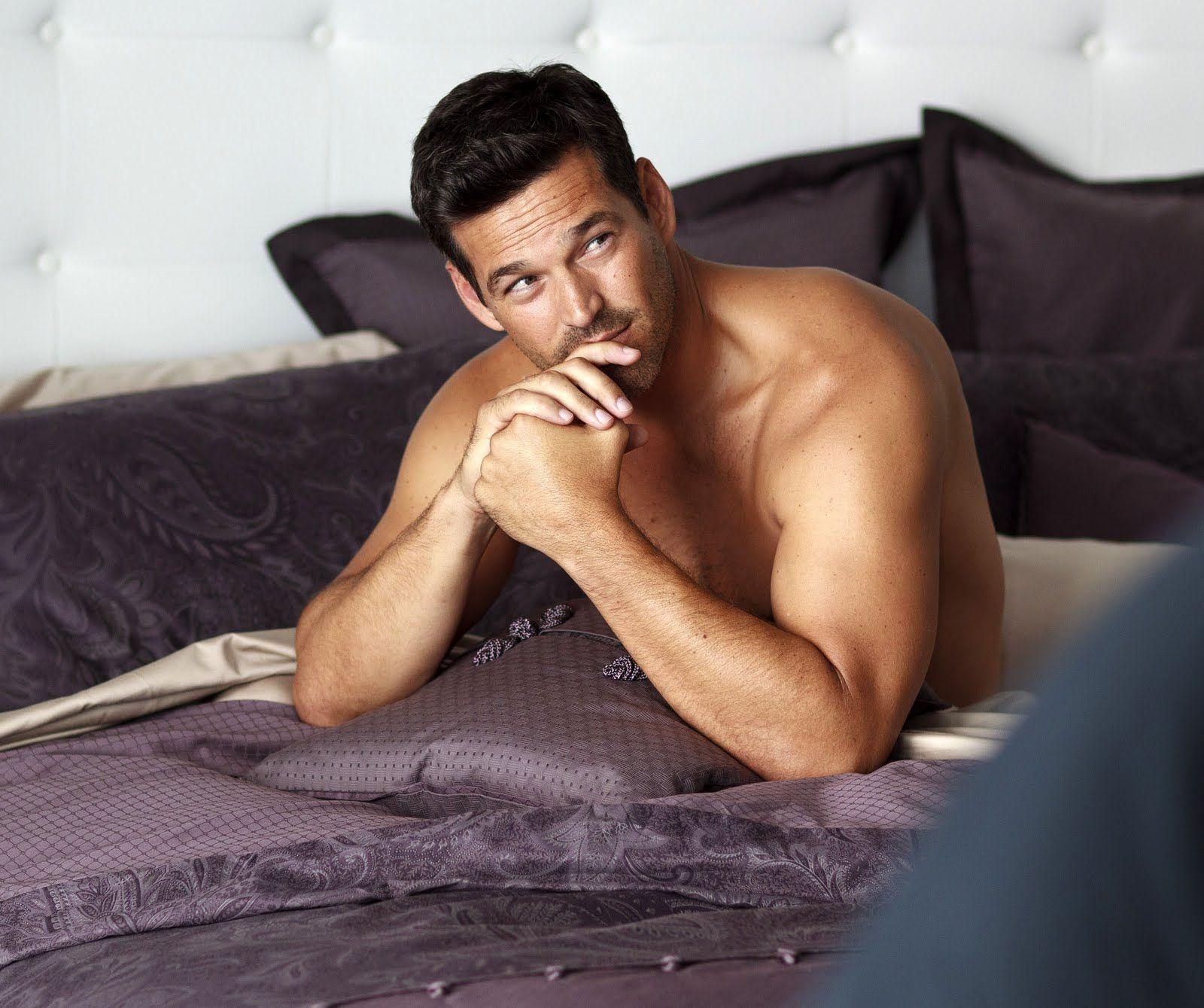 I'd like waking up next to him!
