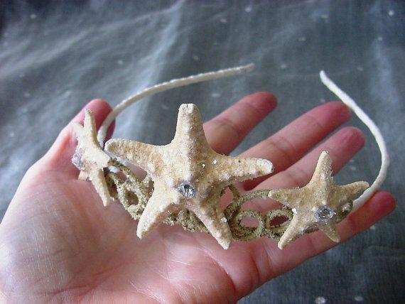 Playa las estrellas sirena corona Tiara de la por mermaidspalace