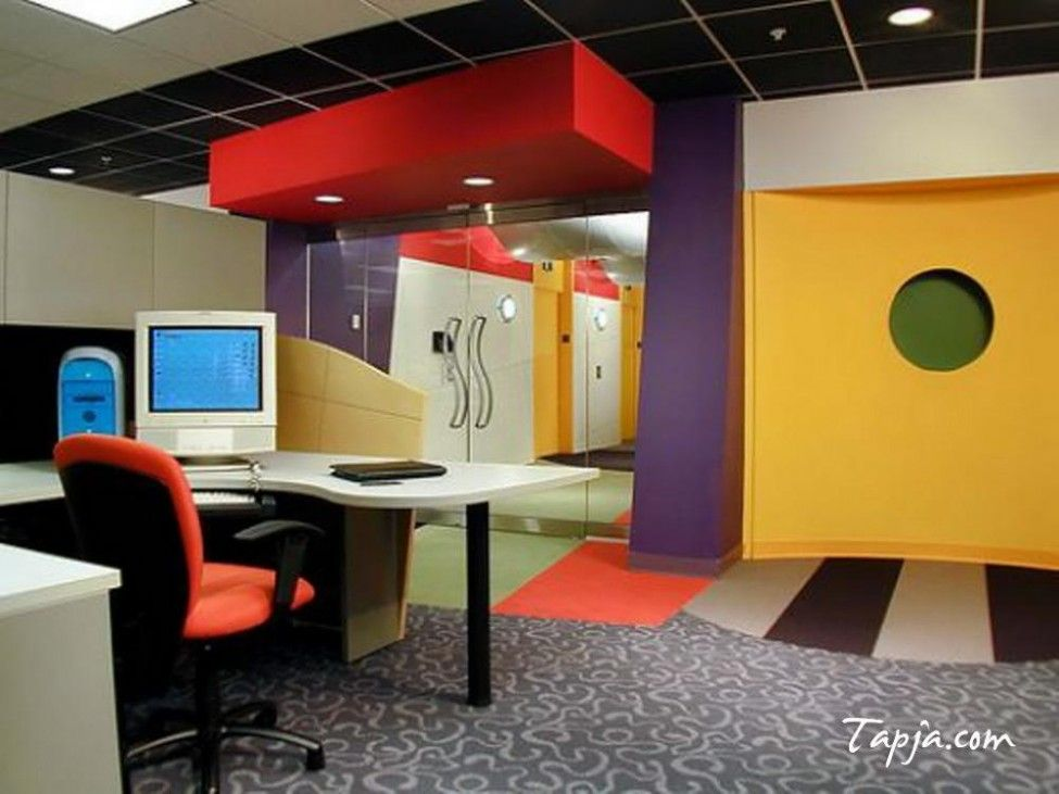 colorful wall colors for modern office design with elegant on commercial office paint colors id=68638