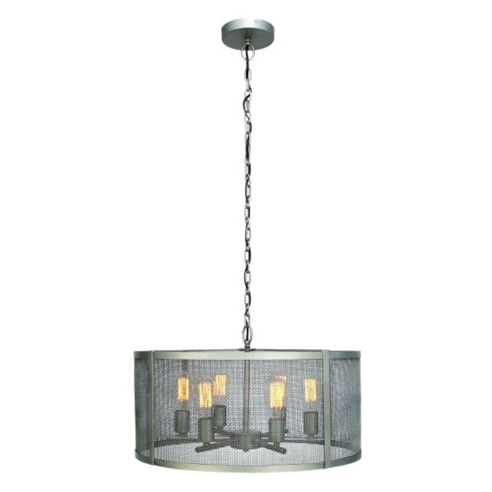 Industrial light metal cage pendant light pendants u chandeliers