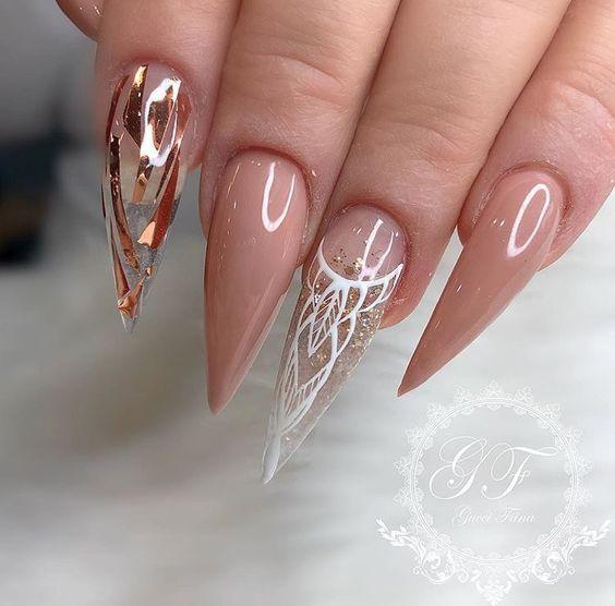 Photo of 70+ trendy and unique stiletto nail art designs; Stiletto nail designs; Bling St … – Diy Nagel