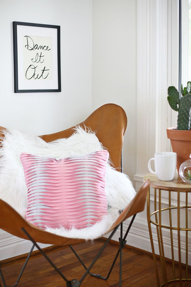 Textured leather pillow diy home inspiration pinterest leather