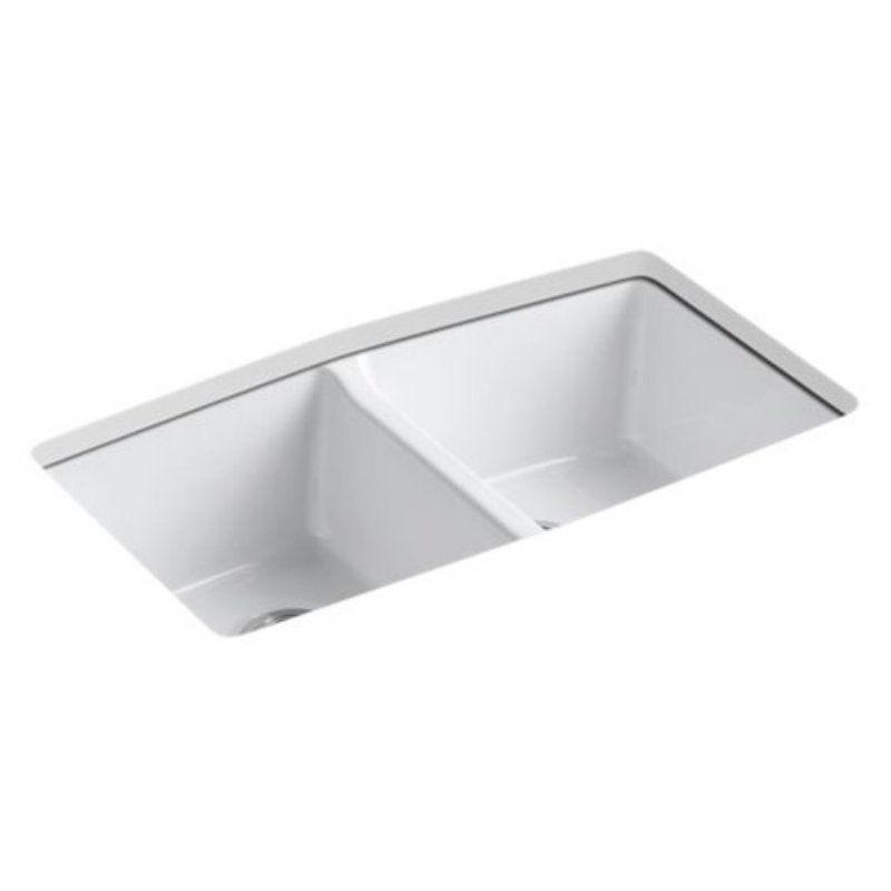 Kohler Brookfield Double Basin Undermount Kitchen Sink Products