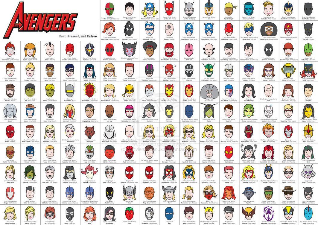 супергерои список с картинками именами этого было