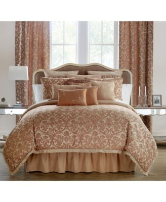 Reversible Margot Persimmon Comforter Sets Dream Home