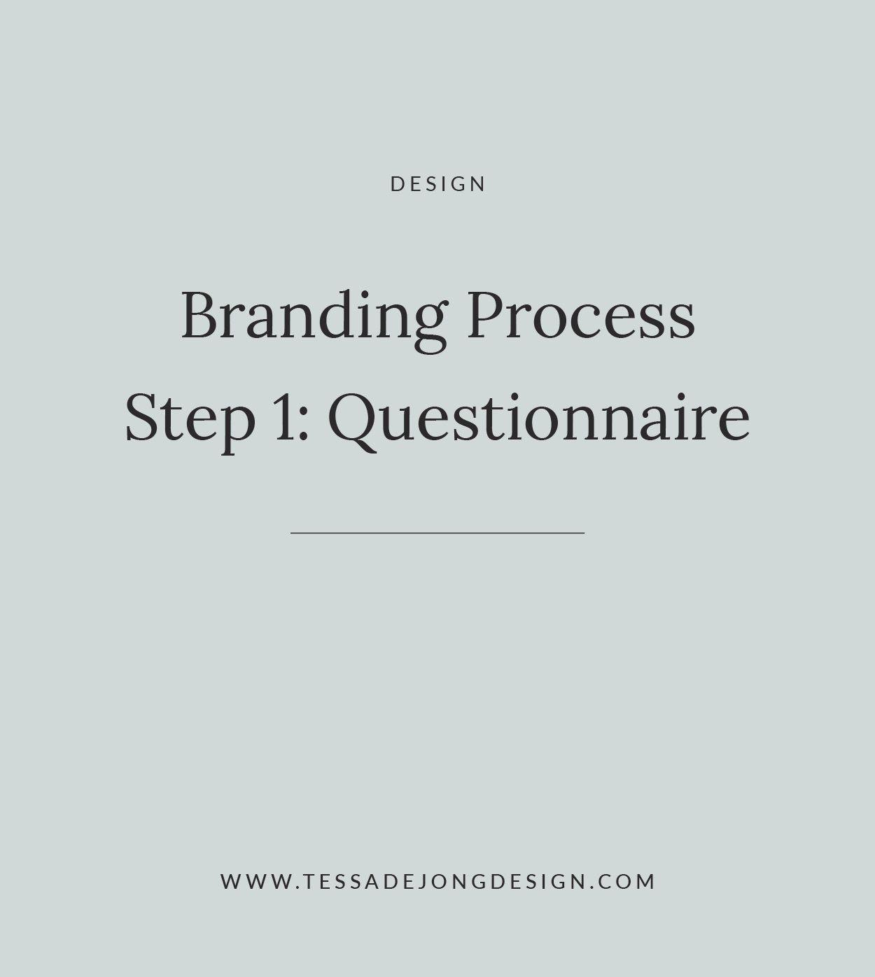Branding Process Step 1 Client Questionnaire Logo Brandidentity Graphicdesign Process Step1 Branding Process Graphic Design Clients Client Questionnaire