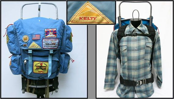 Vintage Camping Hiking Gear Boy Scouts Patches Kelty