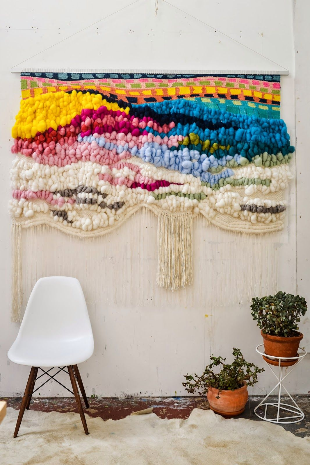 Pop Of Color Hanging Tapestry Aesthetic More