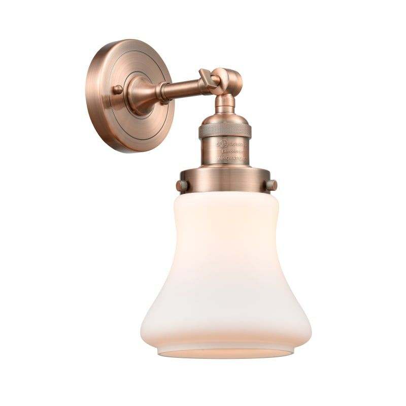 "Photo of Innovations Lighting 203 Bellmont Bellmont Single Light 11 ""Tall Bathroom Sconce …"