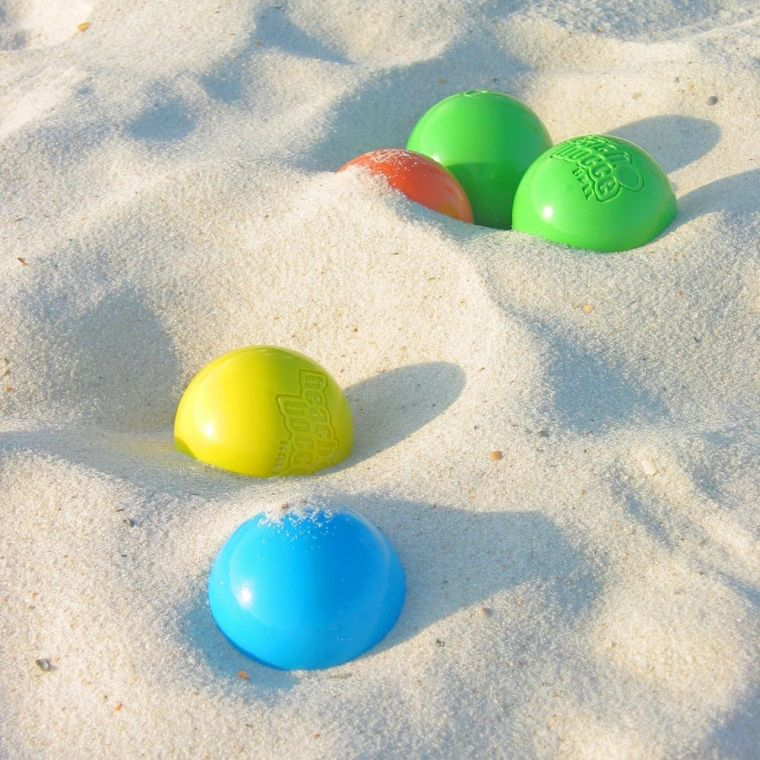 Beach Bocce Ball Set with Carrying Case Bocce, Beach