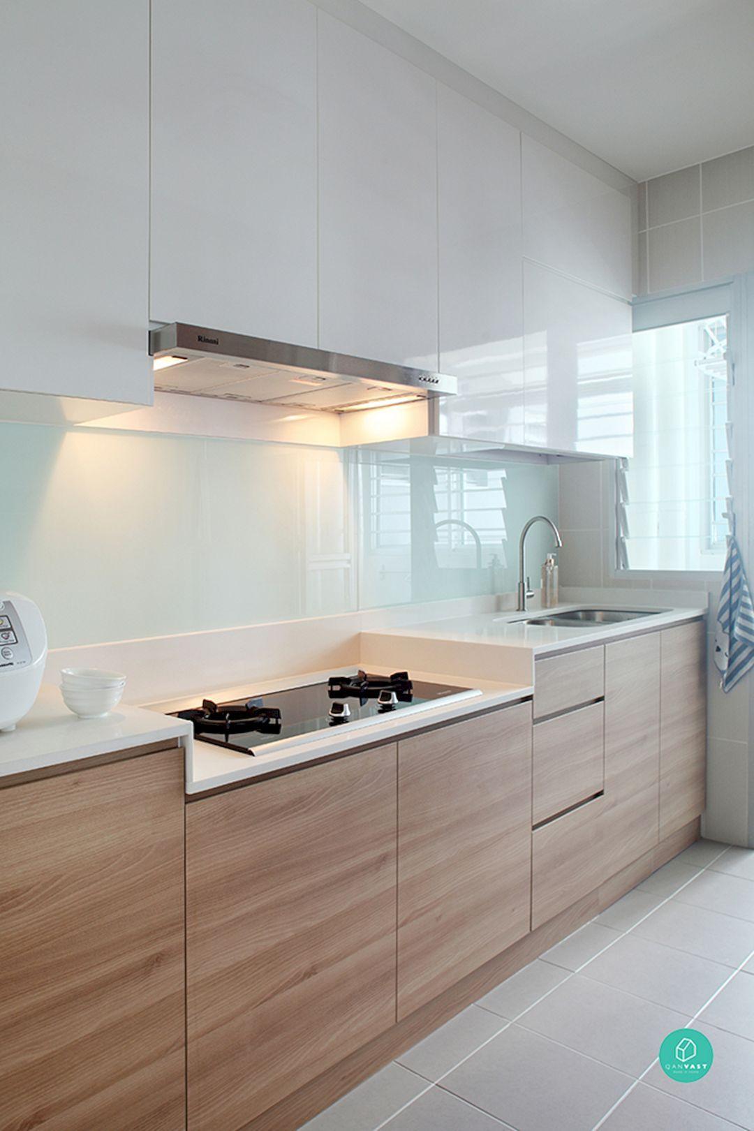 Stylish Modern Kitchen Cabinet: 127 Design Ideas | σπιτι | Pinterest on kitchens with oak trim, kitchens with oak flooring, kitchens with oak floors,