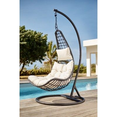 transat chaise longue et hamac pour un bain de soleil r g n rant fauteuil de jardin suspendu. Black Bedroom Furniture Sets. Home Design Ideas