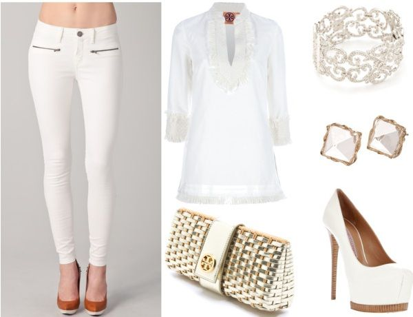 summer beach outfit ideas  what to wear to a white party