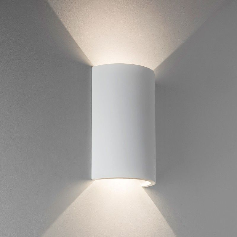 84 3x hallway wall light astro serifos 170 led wall light
