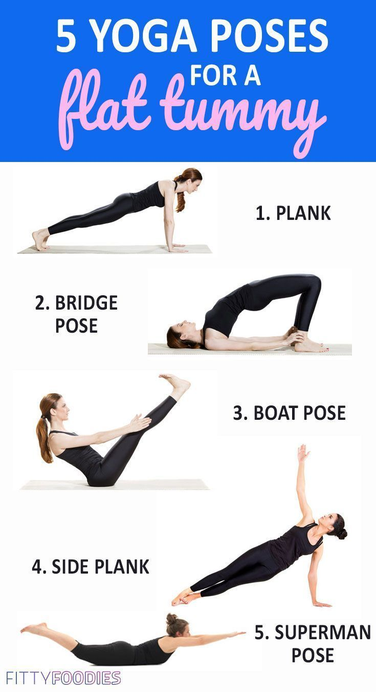 5 Yoga Poses For A Flat Tummy
