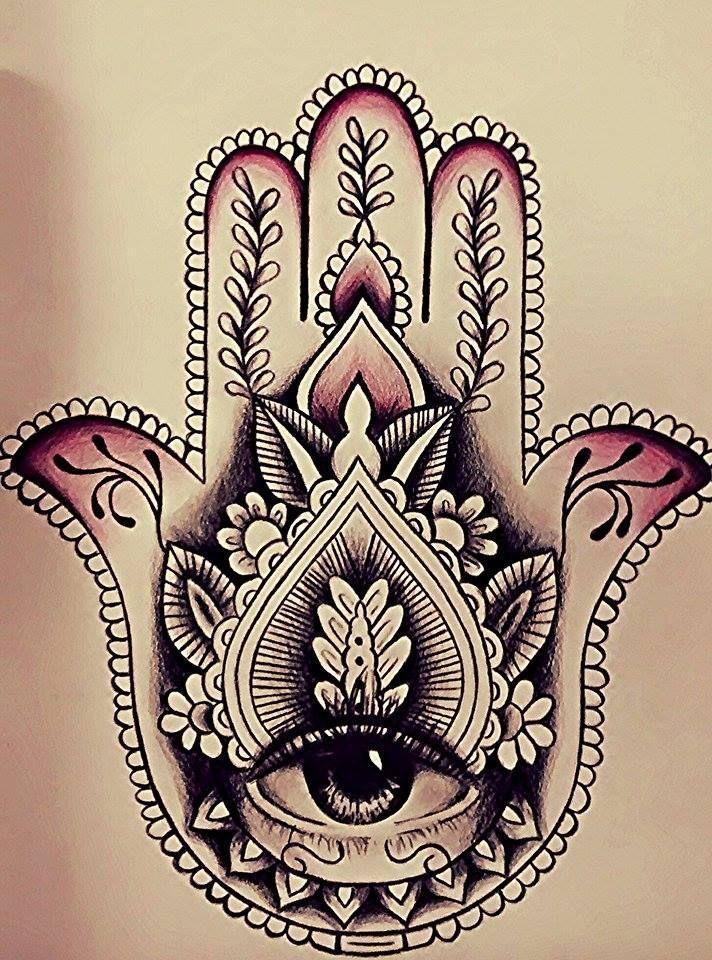 Fatma hand usa tatto - Bougie main de fatma ...