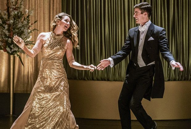 The Flash Supergirl Musical