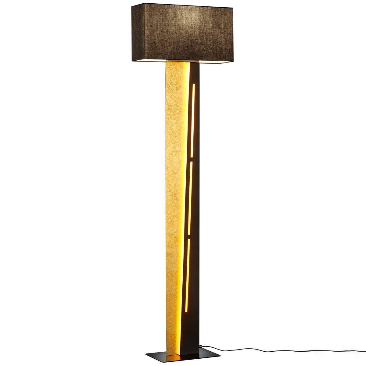 Moderne Stehlampe Nestor Von Trio Lighting Schwarz Stehlampe Led Stehleuchte Und Lampen