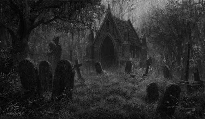 Explore And Share Dark Graveyard Wallpaper On WallpaperSafari