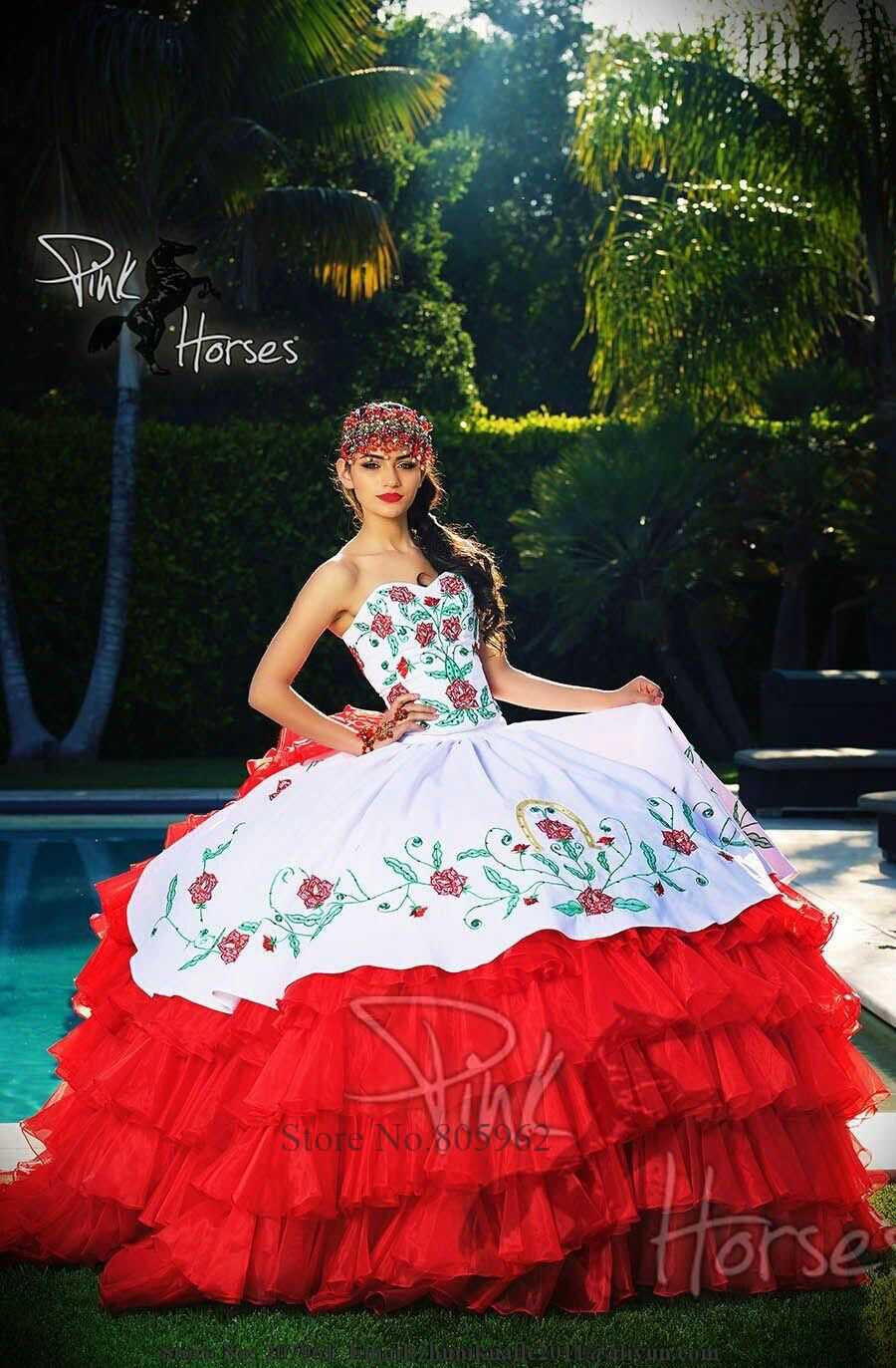 Dresses Quinceanera mariachi style
