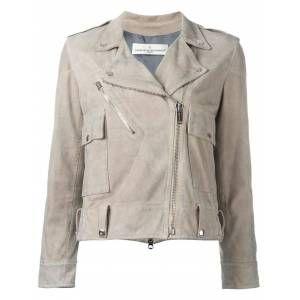 Golden Goose classic biker jacket   Neutrals  Female Gallery