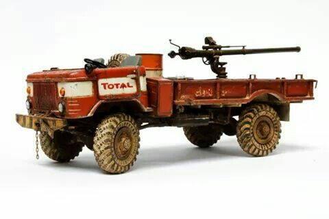 gaz 66 truck with a mounted recoilless rifle 1 35 scale. Black Bedroom Furniture Sets. Home Design Ideas