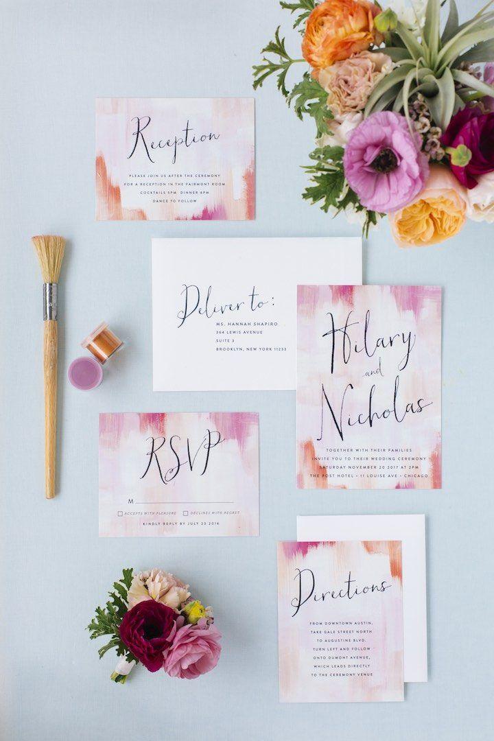 Featured Wedding Invitation: Minted