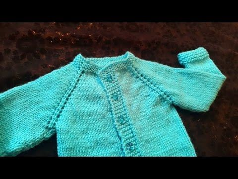 fa6de626b1c Cardigan Baby Sweater (1 Year Baby) in Urdu Hindi by Azra Salim - YouTube