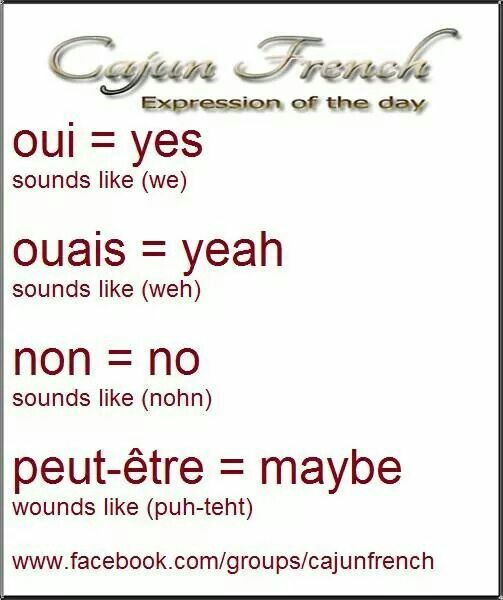 I Want To Learn Cajun French - Learn French Direct