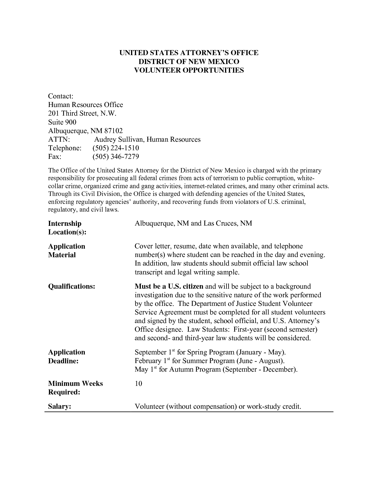 Volunteer Work On ResumeVolunteer Work On Resume Application Letter Sample