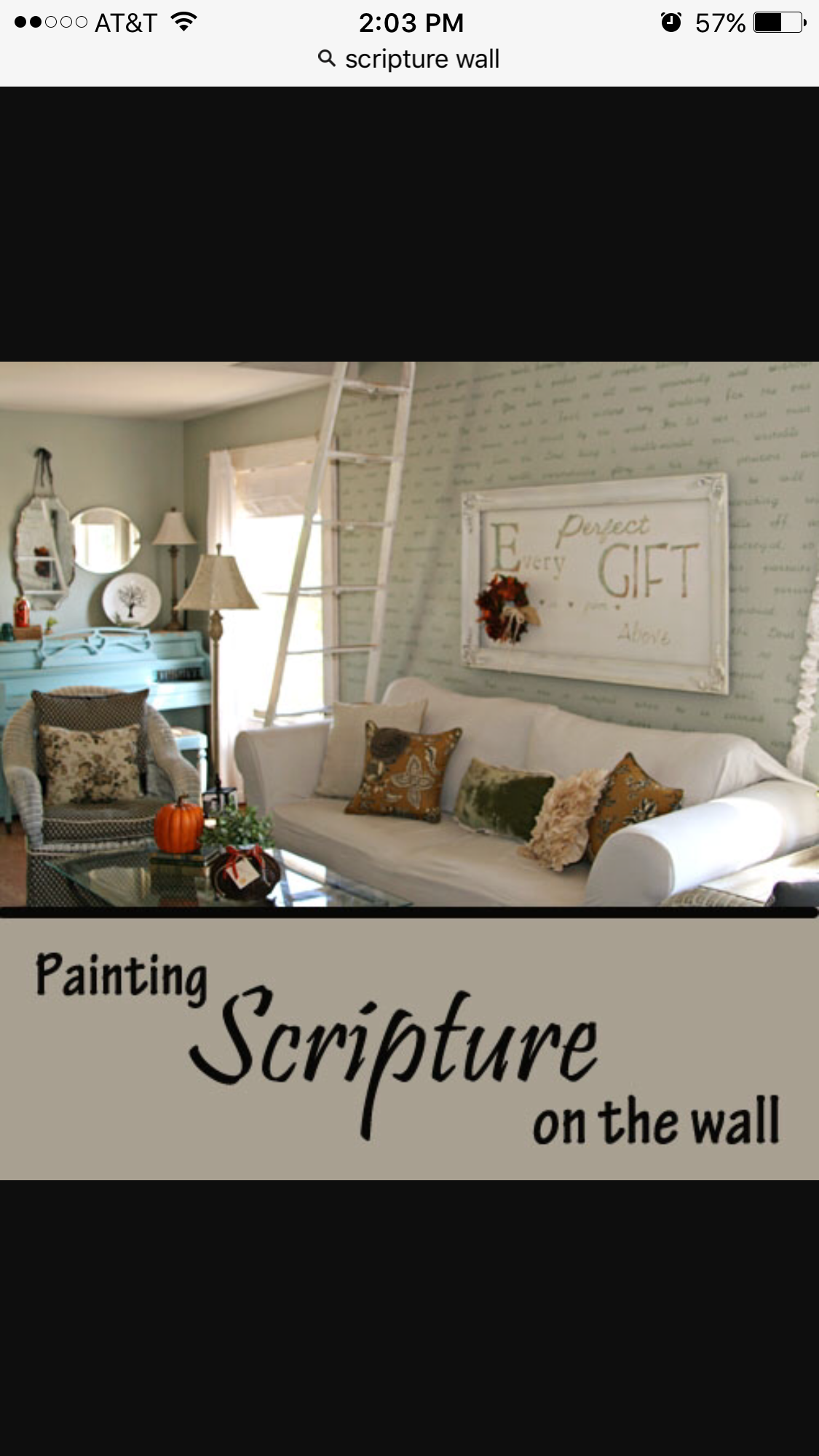 Prayer room diy decor