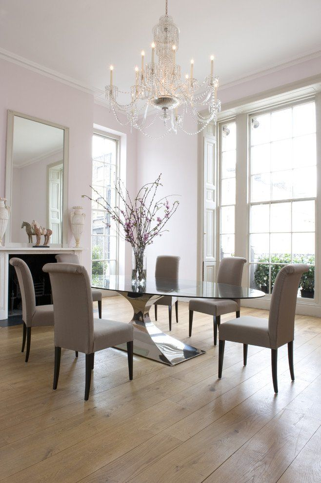8 Stylish Glass Dining Tables Dining Room London Dining Room Chairs Upholstered Glass Dining Room Table