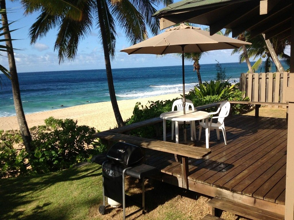 ... Rental Located At Log Cabins/Rock Piles/Pipeline Welcome To The Newly  Listed Ke Waena Beach Cottage Situated On The World Famous North Shore, Oahu .