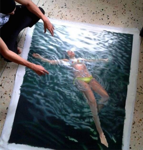 el artista del agua 5