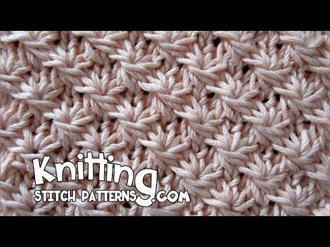 Watch Video To Learn How To Knit The Daisy Stitch For Written