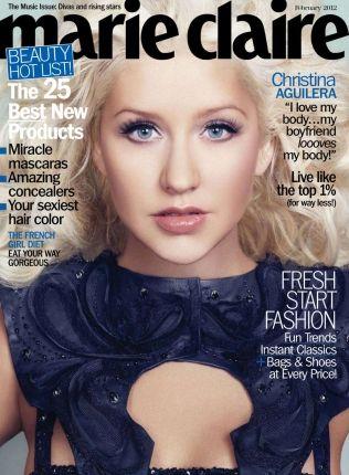 A cantora dona de um vozeirão Christina Aguilera andou escorregando na sua forma física, bastante piorada com a escolha errada de suas roupas em shows. Mesmo assim, a moça afirma com todas as letras que está muito feliz com seu corpo.