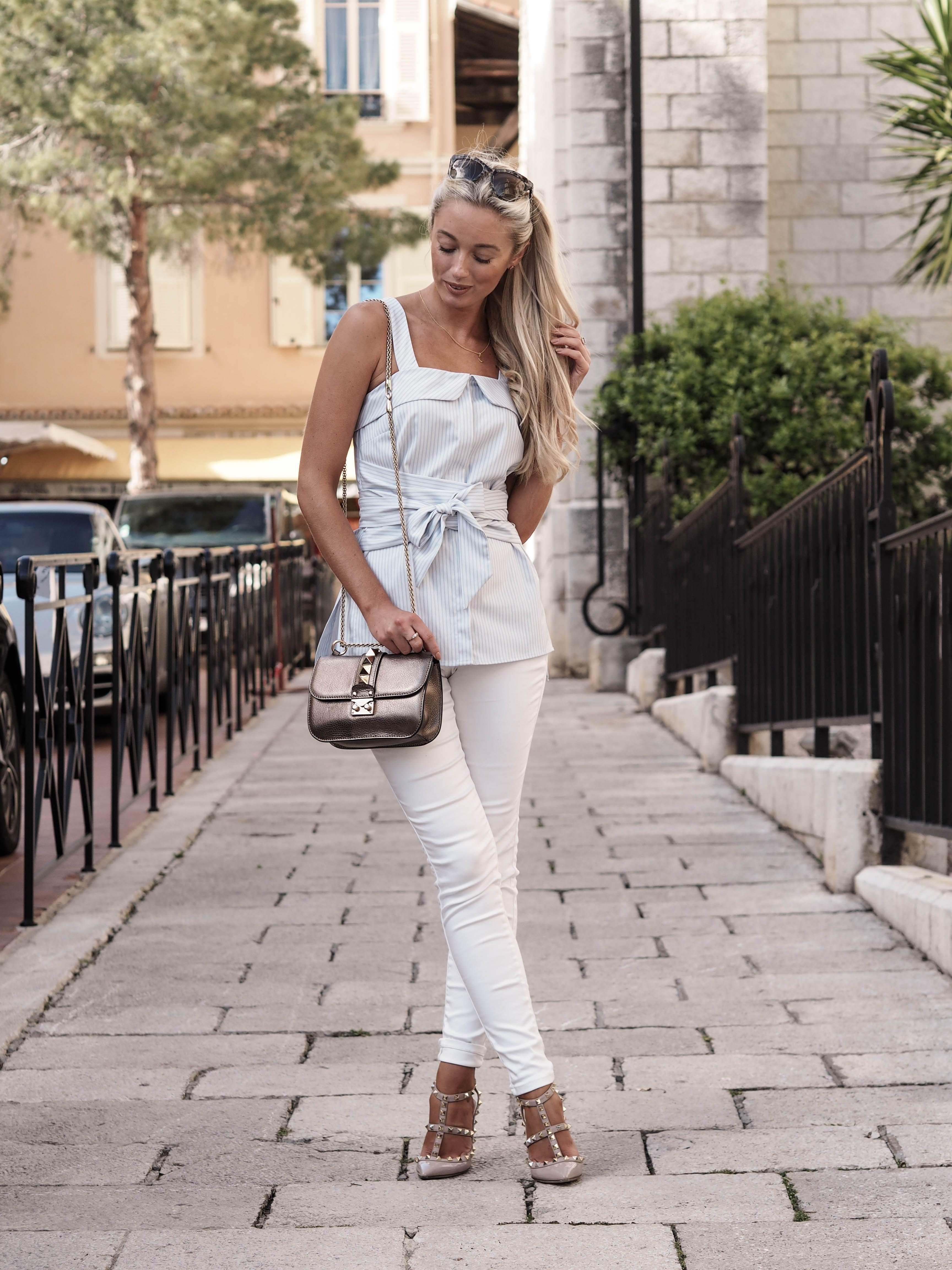 Blogger Josie @fashionmumblr (Fashion Mumblr) wears Coast's Friday collection in Monaco | Perfect