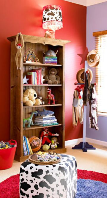 Boys Cowboy Bedroom Makeover Better Homes And Gardens Yahoo 7 Lifestyle Pinterest Cowboys