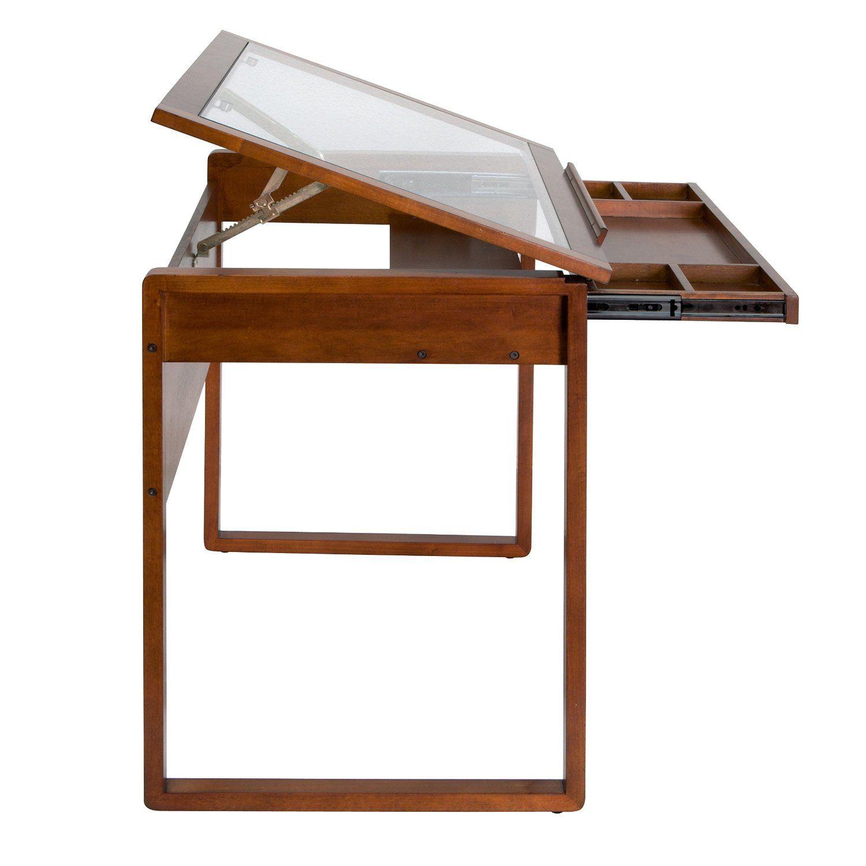 Marvelous Amazon.com: Studio Designs Ponderosa Glass Topped Table In Sonoma Brown  13280: Kitchen